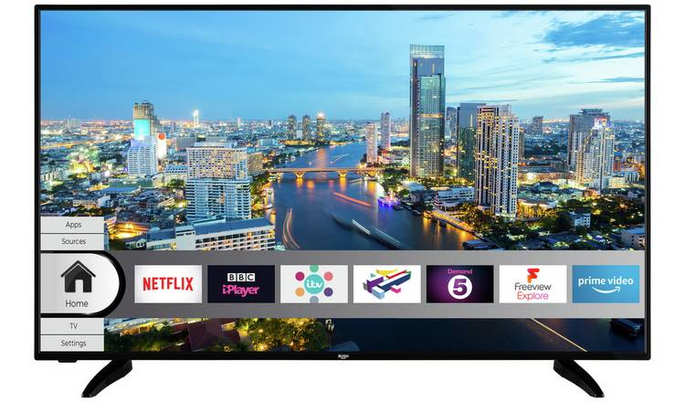 Bush 55 Inch Smart 4K UHD LED TV with HDR