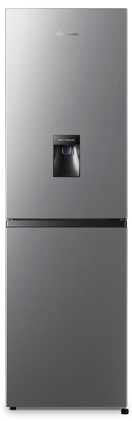Fridgemaster MC55240MDFS Fridge Freezer - Silver