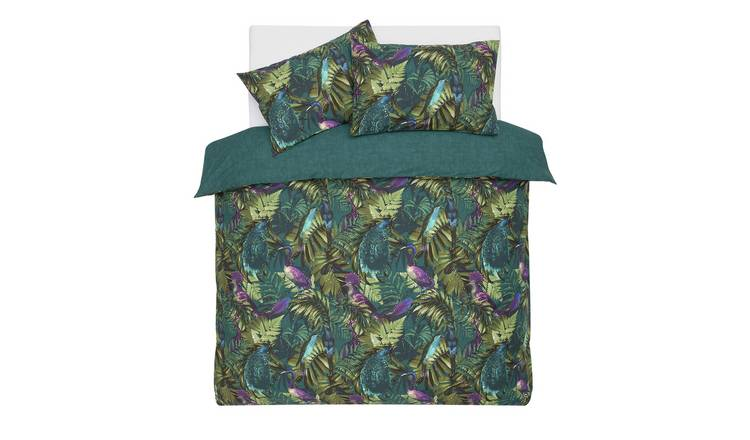 Argos Home Exotic Bird Bedding Set - Single