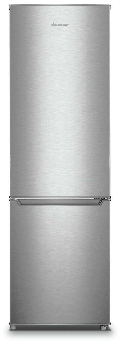 Fridgemaster MC55264AFS Fridge Freezer - Silver