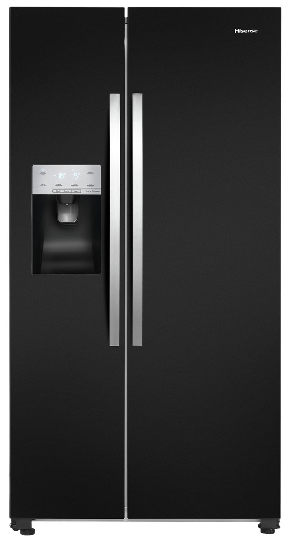 Hisense RS694N4IBF American Fridge Freezer - Black