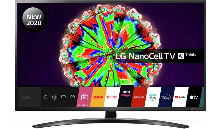 LG 55 In 55NANO796 Smart 4K UHD NanoCell HDR LED Freeview TV