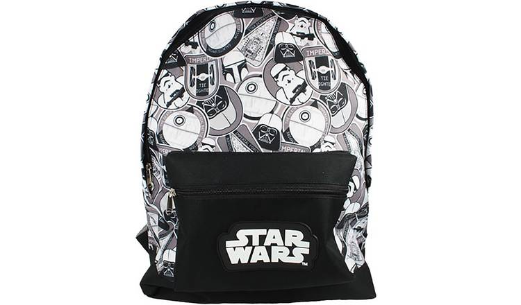 Star Wars Backpack - Black and White