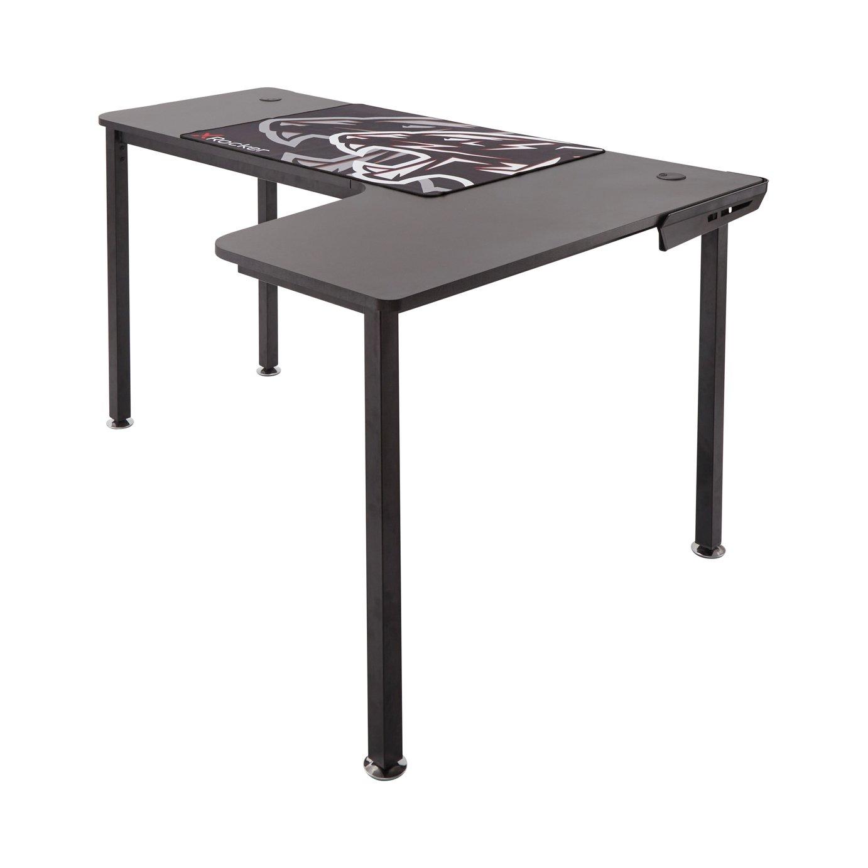 X Rocker Panther XL Gaming Desk - Black