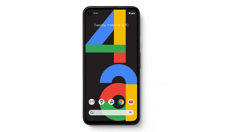SIM Free Google Pixel 4a 128GB Mobile Phone - Just Black