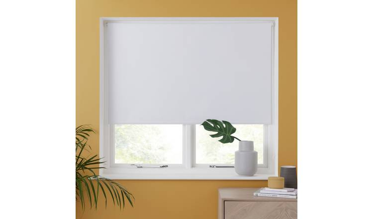 Argos Home Blackout Insulating Roller Blind - 2ft - White
