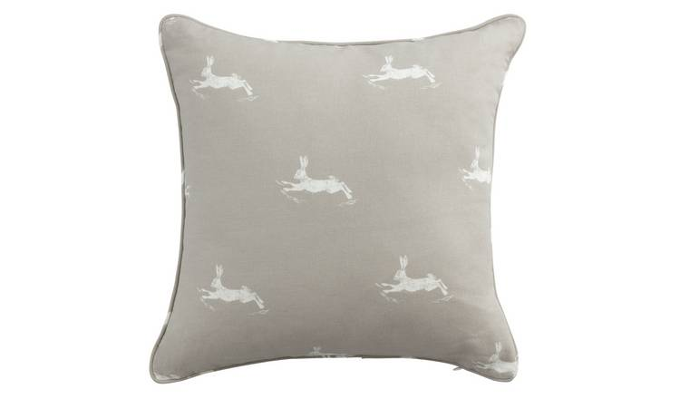Argos Home Forest Dawn Hare Cushion