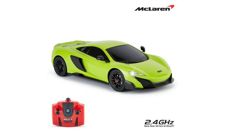 McLaren 1:24 Radio Controlled Sports Car - Green
