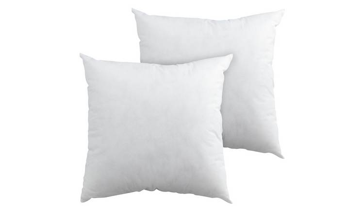 Argos Home 43x43cm Cushion Pads - 2 Pack