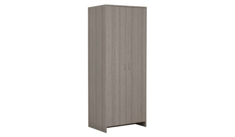 Argos Home Seville 2 Door Wardrobe - Grey Oak Effect