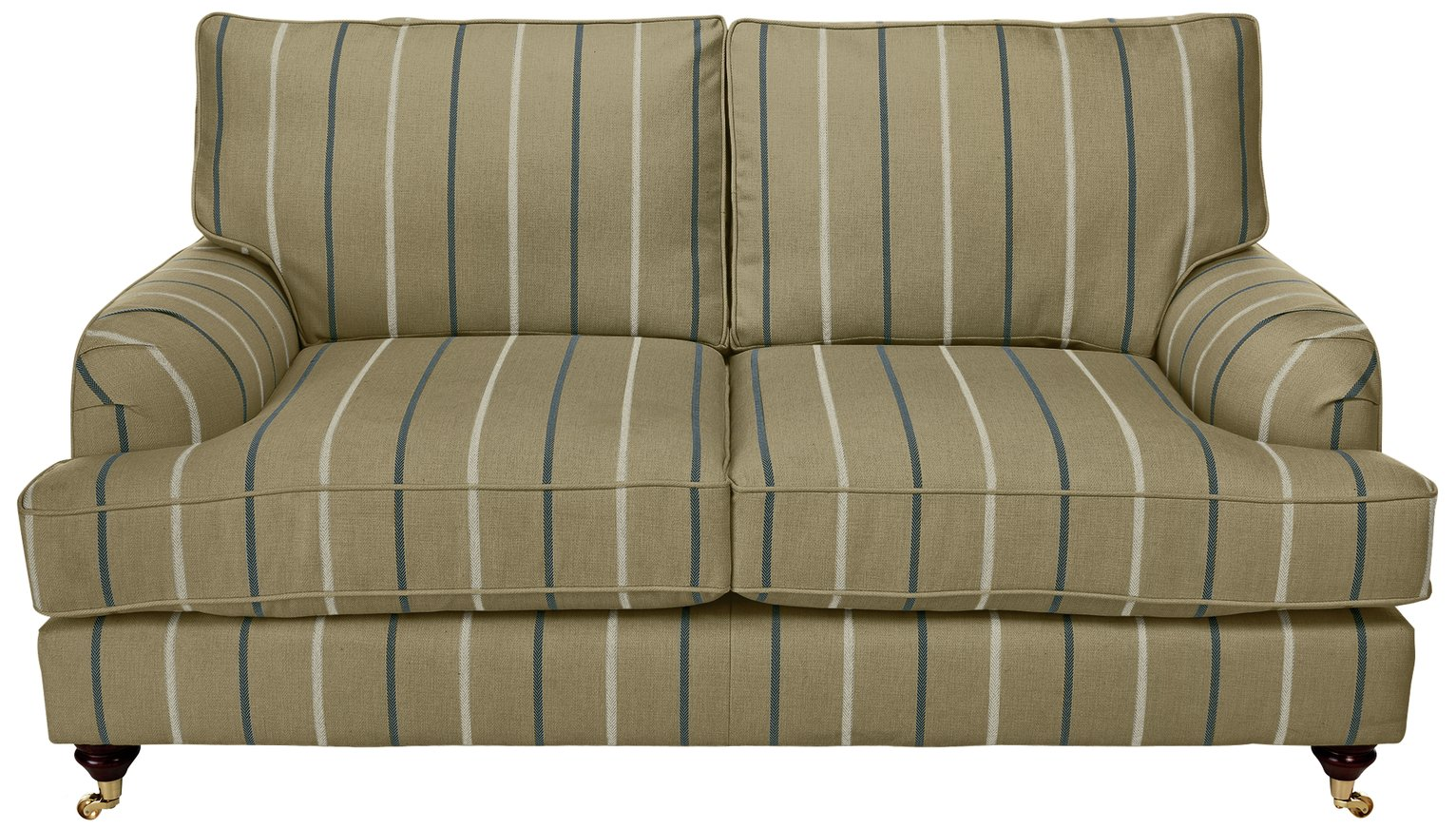 Image of Heart of House Abberton 2 Seater Sofa - Mink Stripe