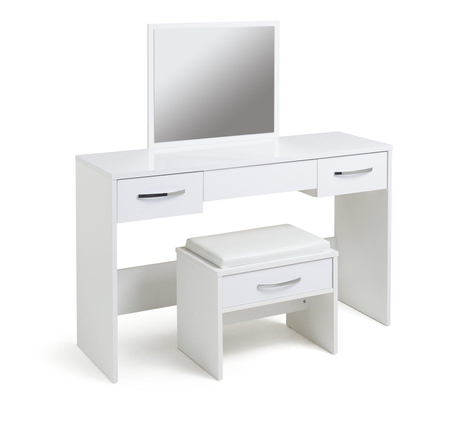 Argos Home New Hallingford Gloss Dressing Table