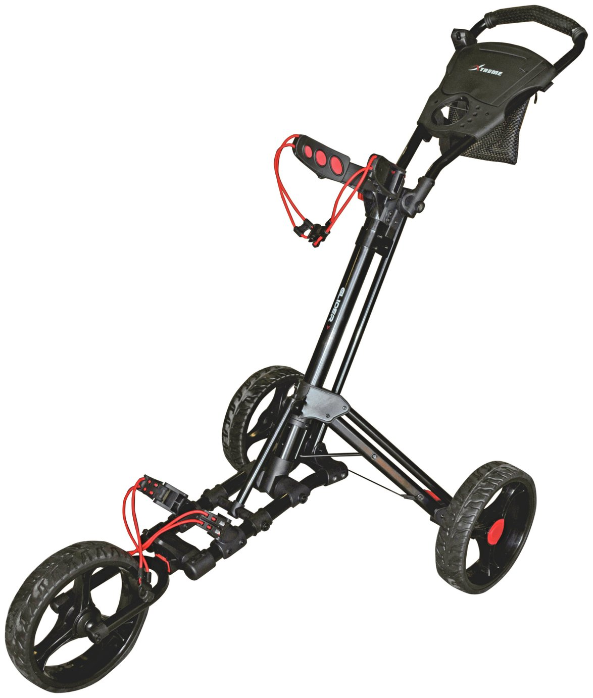Xtreme Compact Folding 3 Wheel Golf Trolley