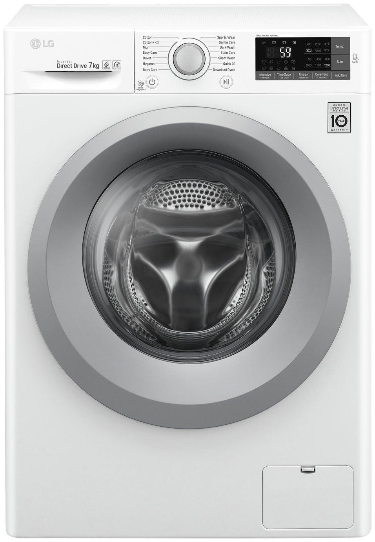 Image of LG W3J5QN4WW 7KG 1200 Spin Washing Machine - White