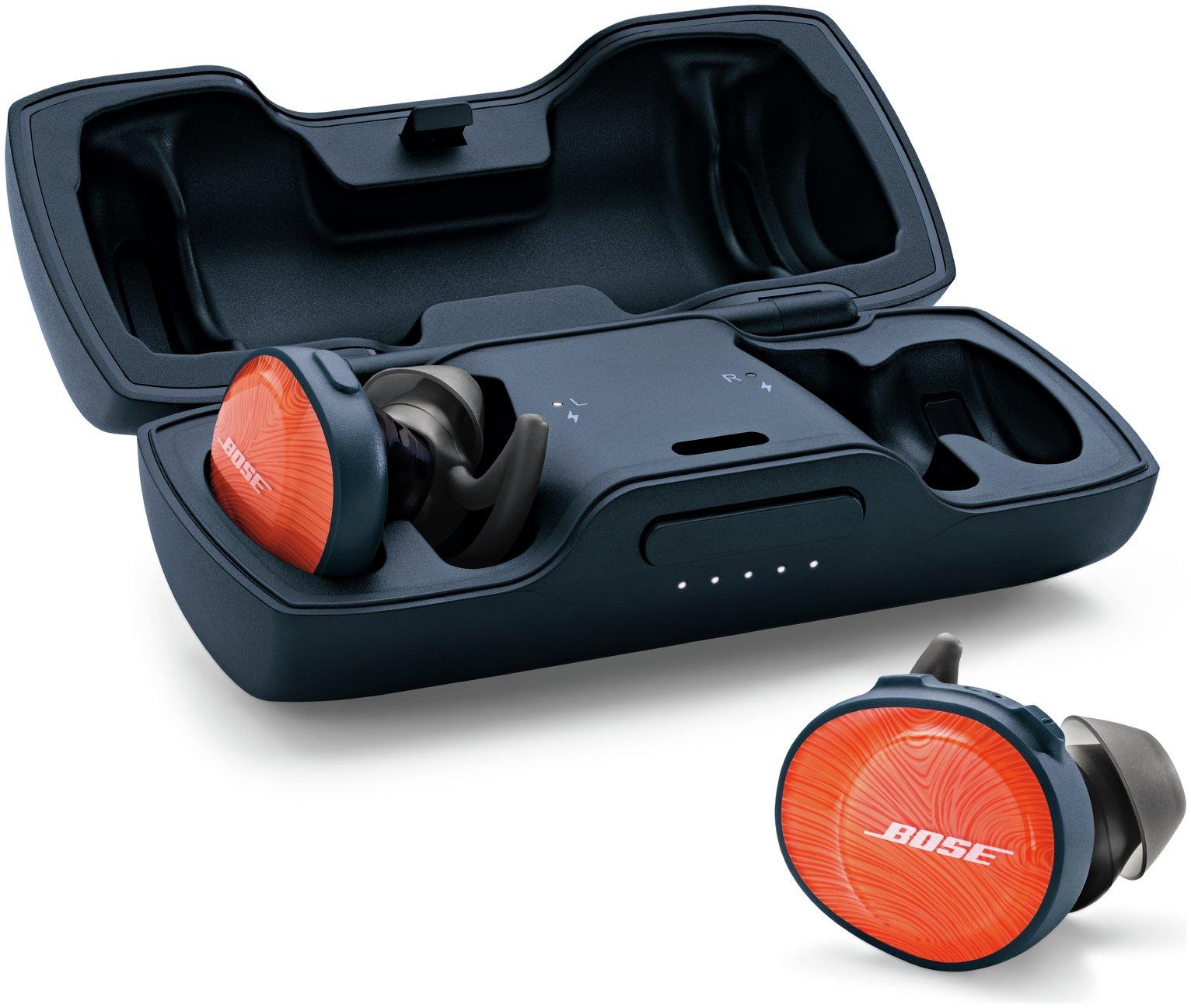 Bose SoundSport Free Wireless In-Ear Headphones - Orange