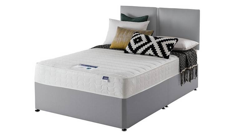 lowest price cf822 51179 Buy Silentnight Hatfield Microquilt Divan Bed - Small Double | Divan beds |  Argos