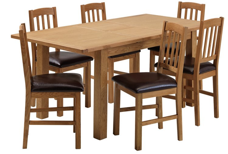 Oak Chairs Dining Room