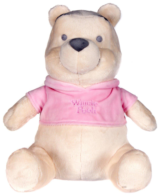 Disney Winnie The Pooh Pink T-Shirt Soft Toy - 20 Inch