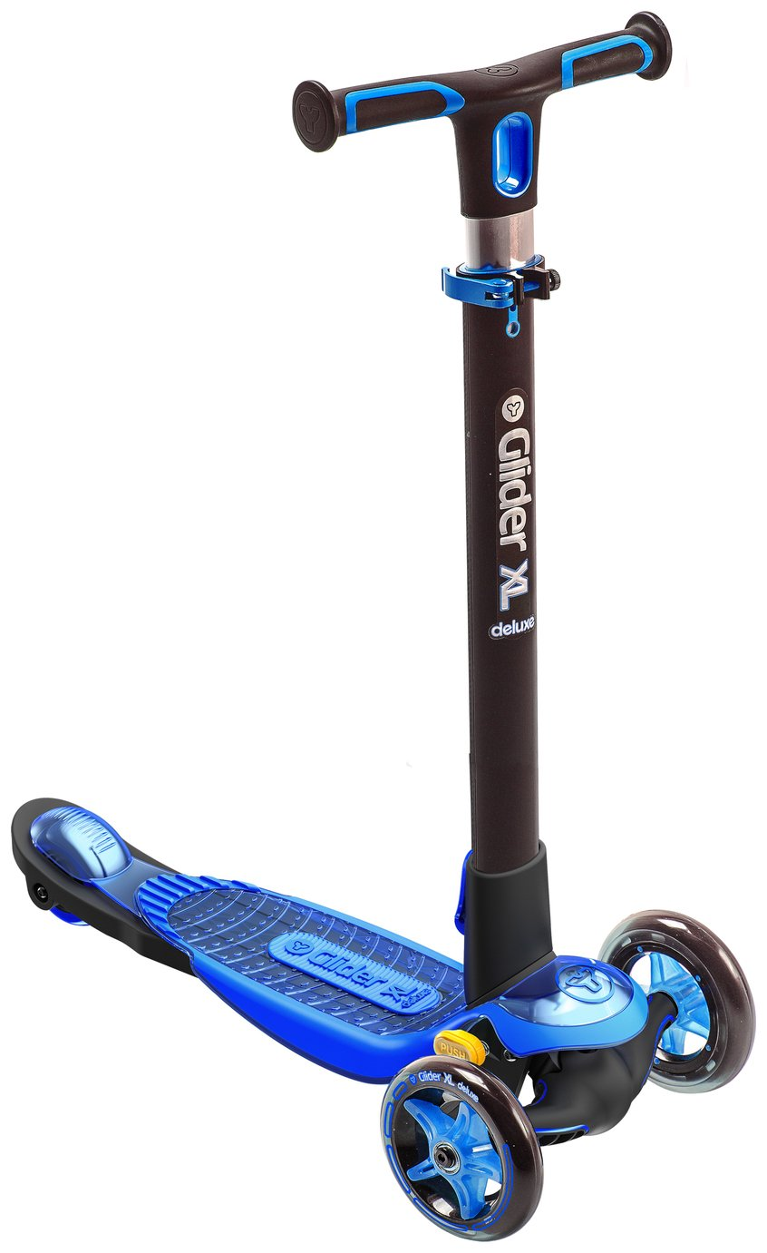 YGlider XL Deluxe Scooter - Blue