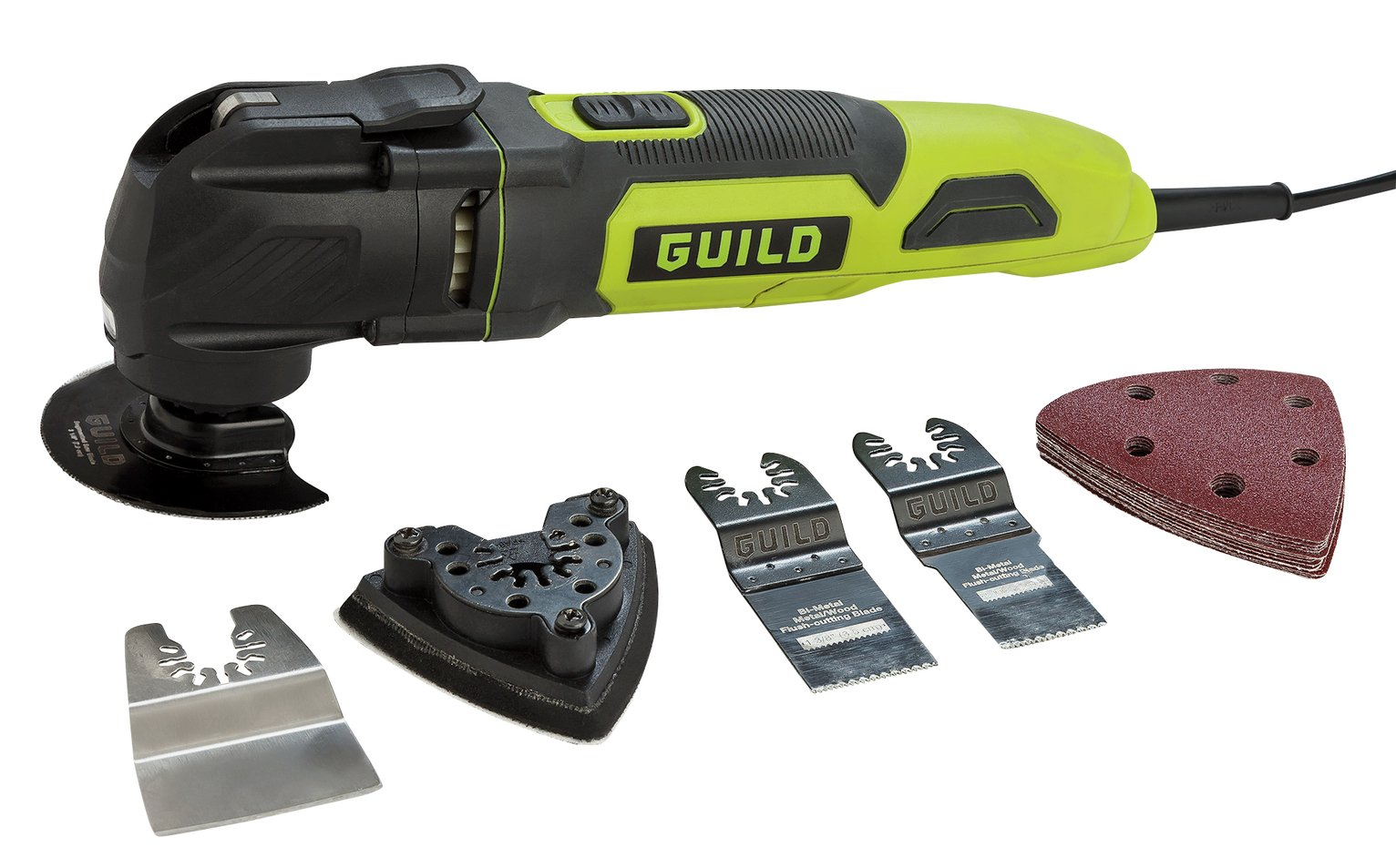 Guild 3-in-1 Multi-Tool with 20 Accessories - 300W