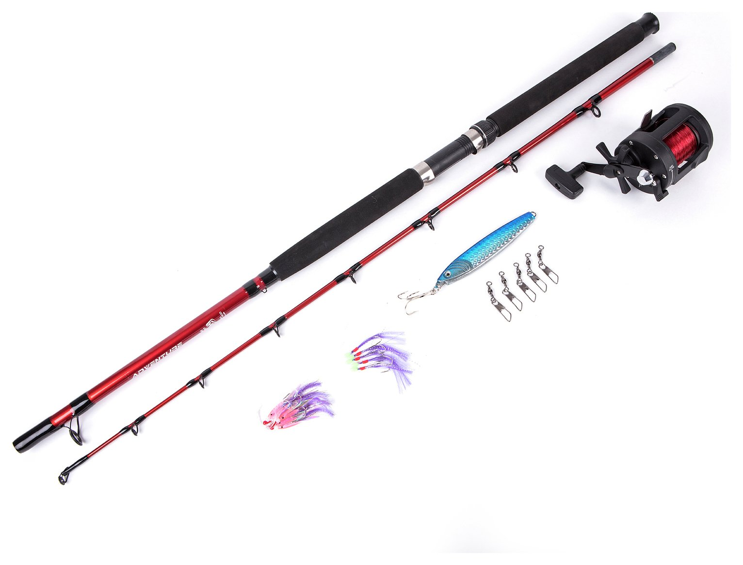 Matt Hayes Adventure Boat Fishing Rod, Reel & Accessories