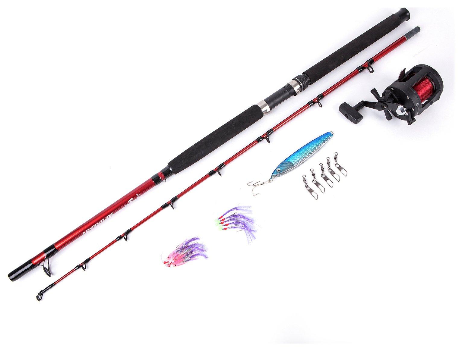 Matt Hayes Adventure Boat Fishing Rod, Reel & Accessories