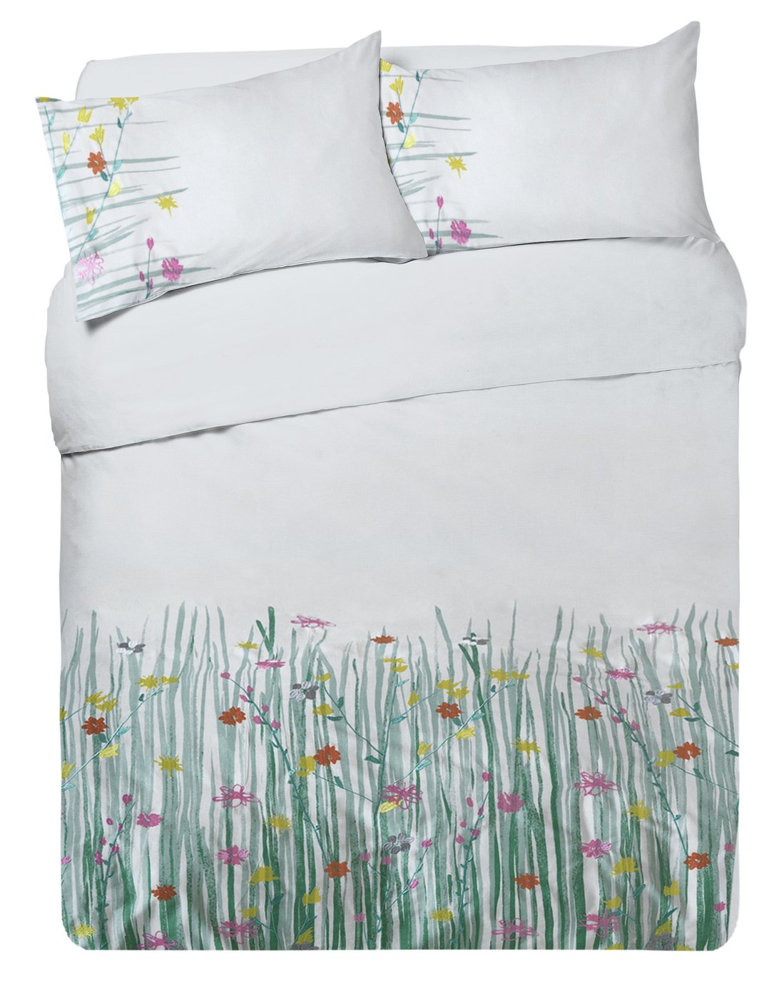Argos Home Summer Meadow Bedding Set - Kingsize