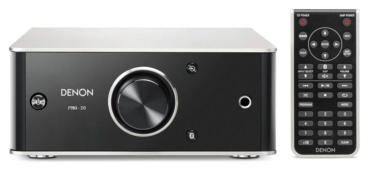 Image of Denon PMA-30 Hi-Fi Amplifier - Black