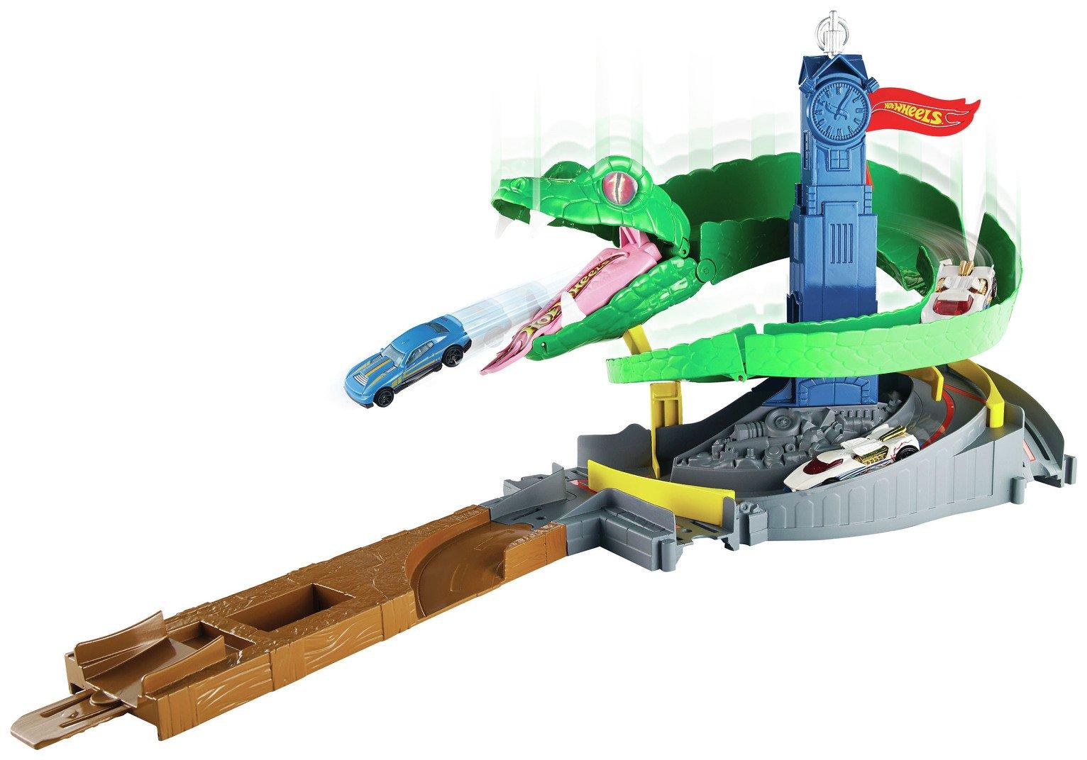 Image of Hot Wheels City Cobra Crush Playset