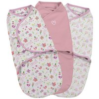 Summer Infant SwaddleMe Secret Garden Swaddle - 3 Pack