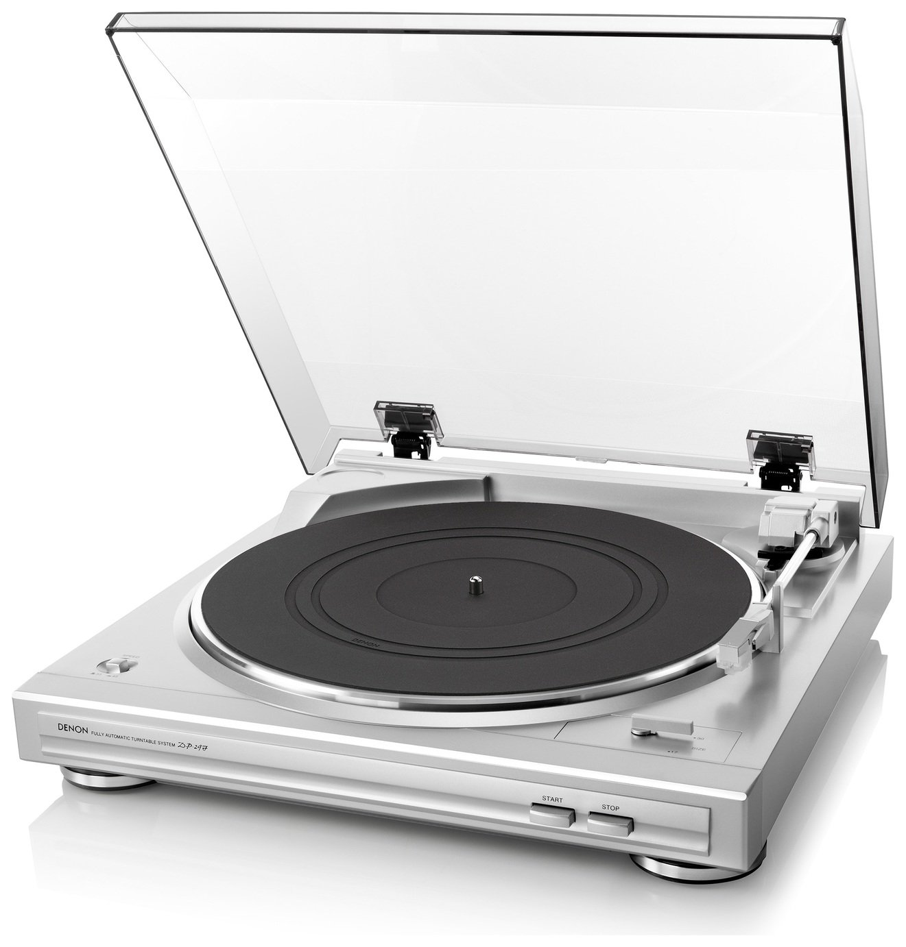 Denon DP-29F Turntable - Silver