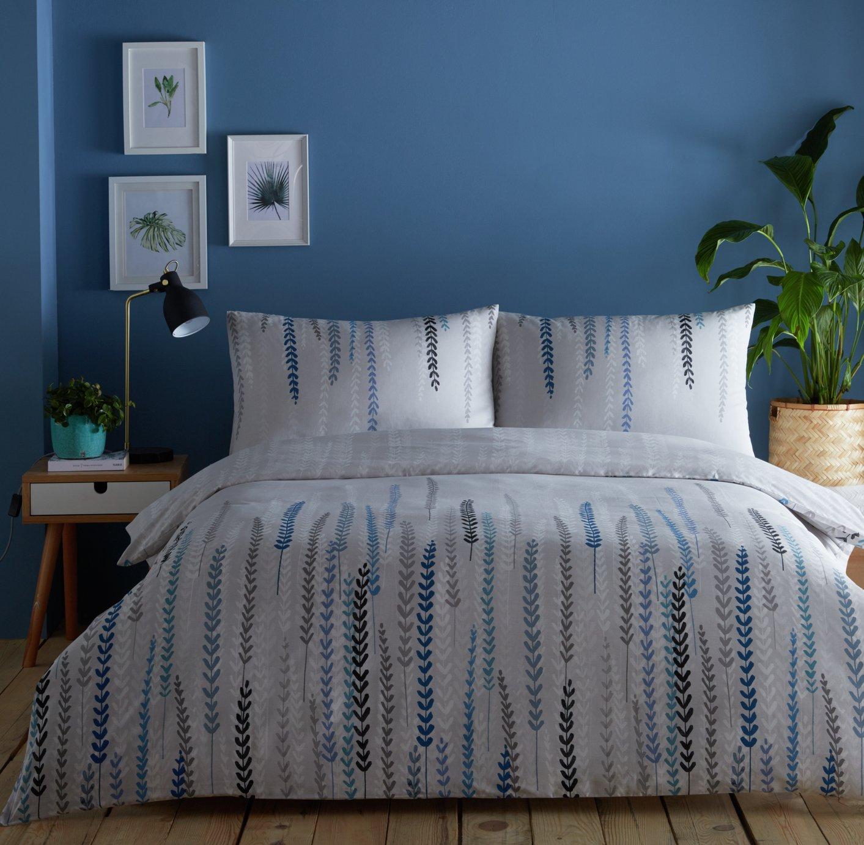 Image of Dreams N Drapes Aviano Silver Bedding Set - Kingsize