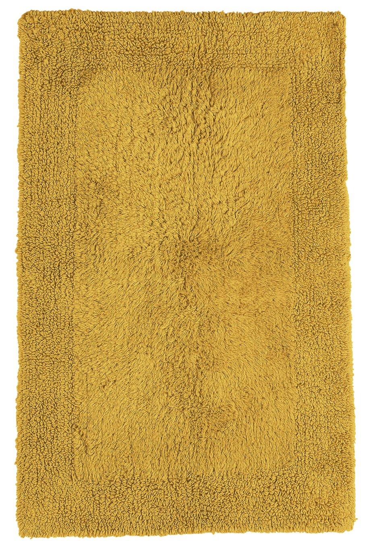 Argos Home Reversible Bath Mat - Mustard