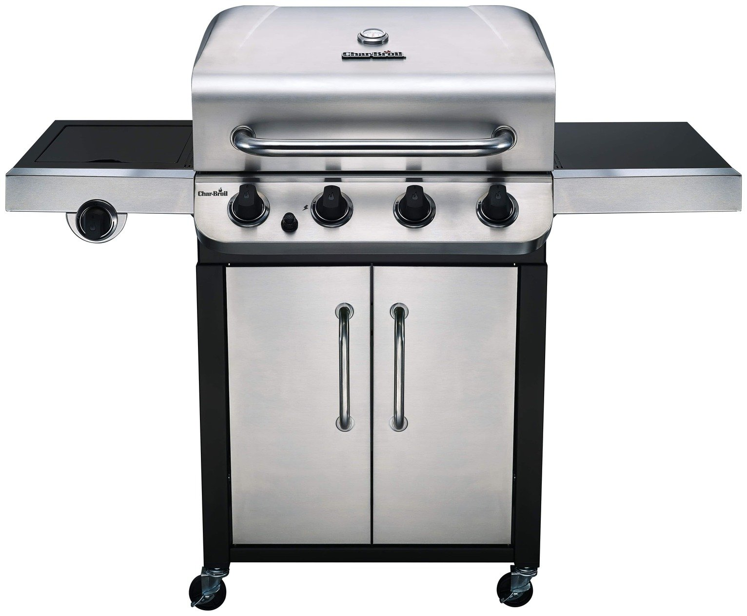 Image of Char-Broil 440S 4 Burner Steel Gas BBQ