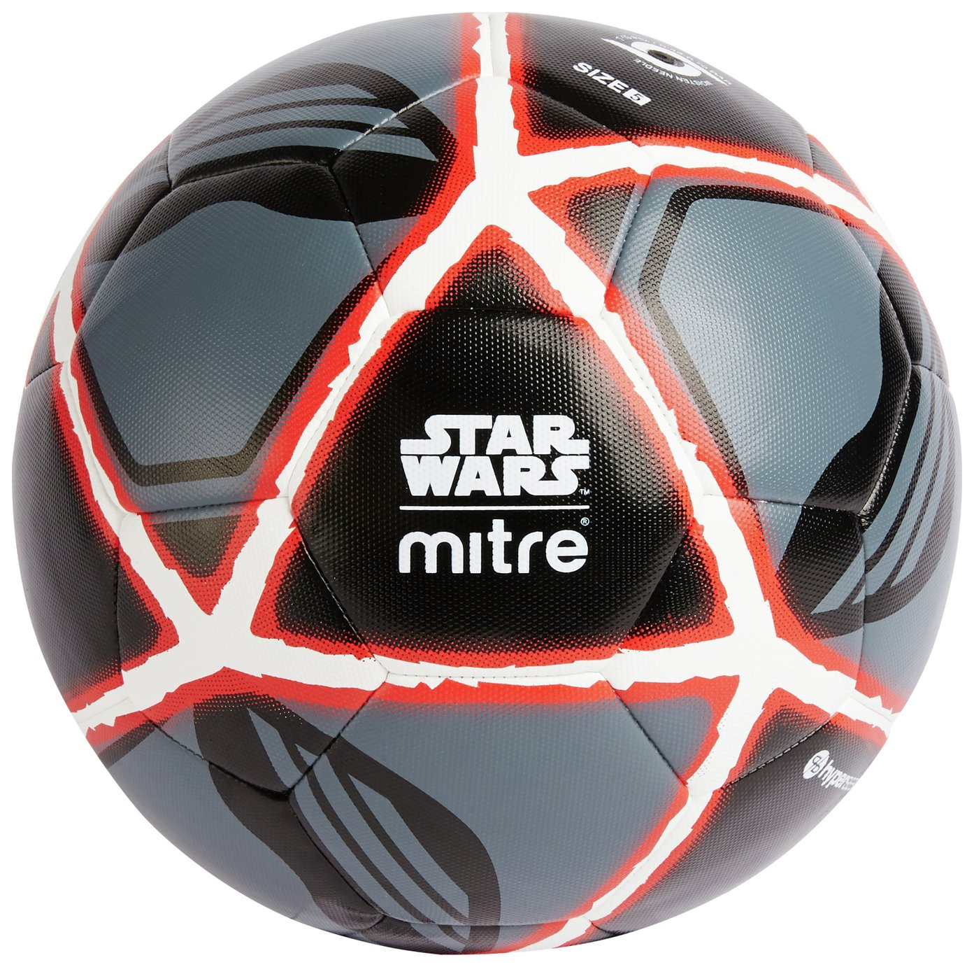 Mitre Star Wars Kylo Ren Football - Black