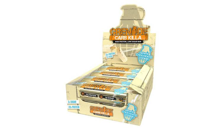 Grenade Carb Killa Protein White Chocolate Cookie - 12 x 60g