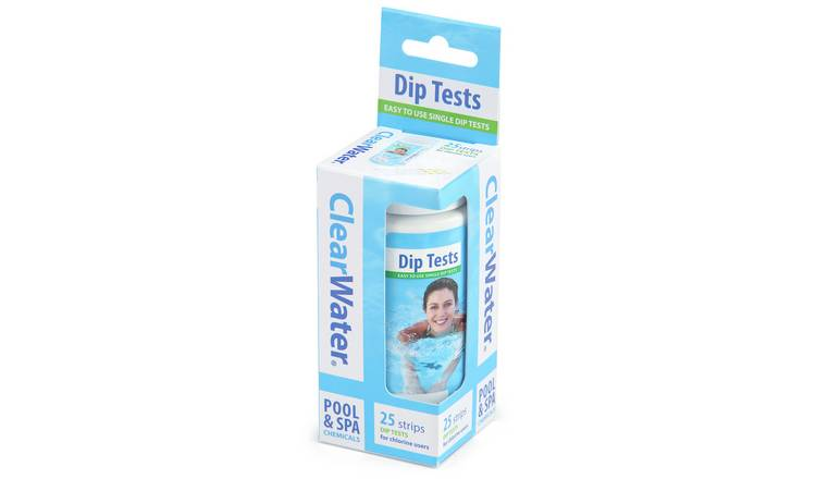 Buy Clearwater PH Test Strips | Hot tubs, spas and saunas | Argos