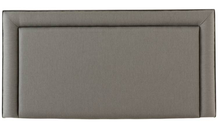 Silentnight Toulouse Small Double Headboard - Grey