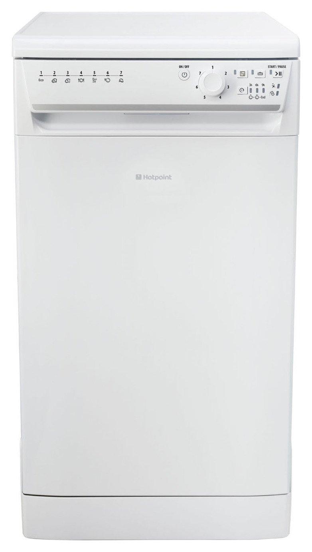 Hotpoint SIAL110P Slimline Dishwasher - White