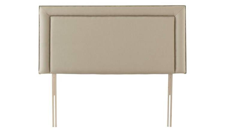 Silentnight Toulouse Single Headboard - Sandstone