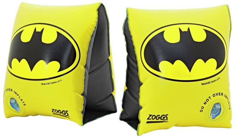 Zoggs Batman Armbands - 2-6 Years