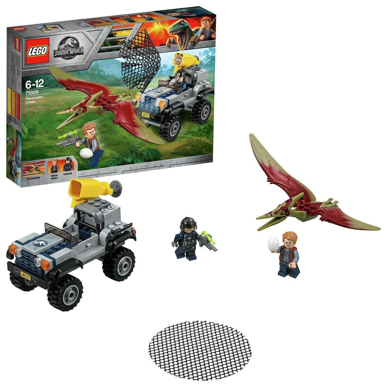 LEGO Jurassic World Pteranodon Chase Dinosaur Toy - 75926