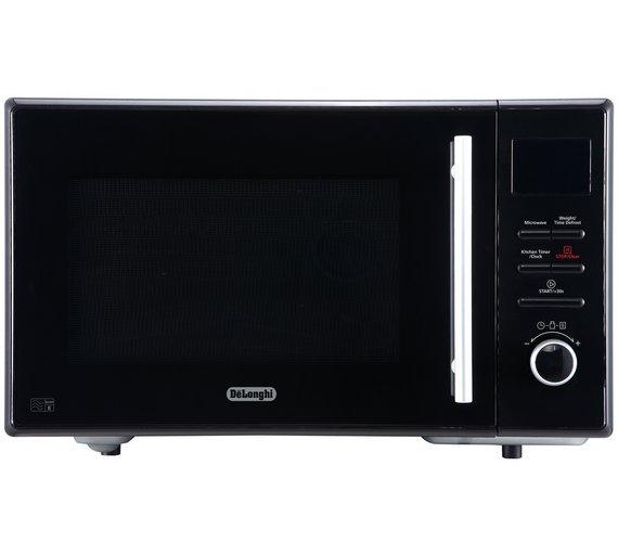 Delonghi 900W Enamel Cavity Solo Microwave AM9 - Black