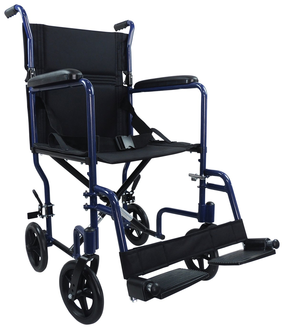 Aidapt Transport Aluminium Wheelchair - Bue