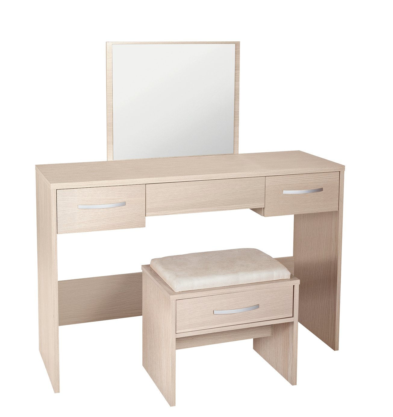 Image of Collection Hallingford Dressing Table - Light Oak Effect