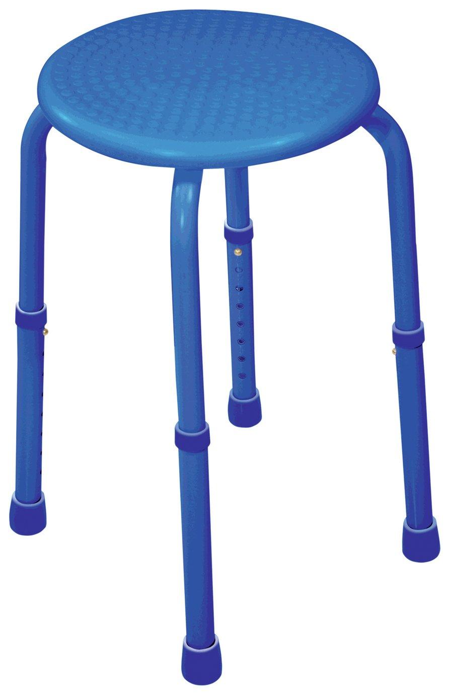 Aidapt Multipurpose Adjust Stool - Blue