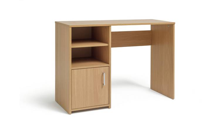Argos Home Lawson Office Desk - Oak Effect