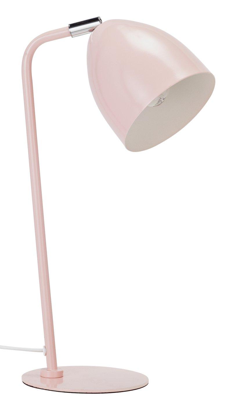 Argos Home Metal Table Lamp - Pink Pastel