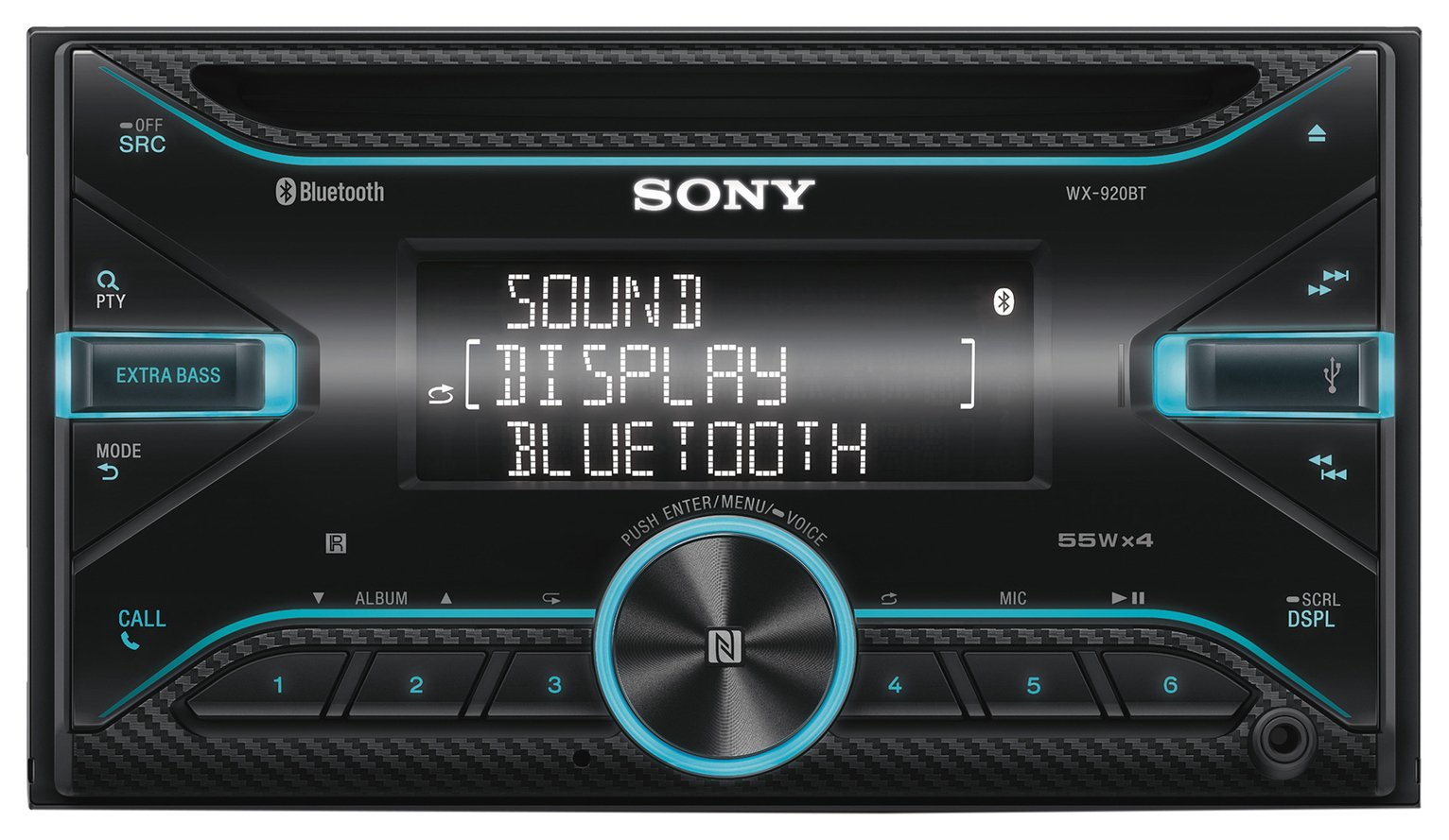 Sony WX920BT Car Stereo with Bluetooth