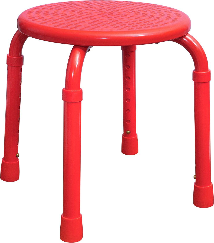 Aidapt Multipurpose Adjustable Stool - Red